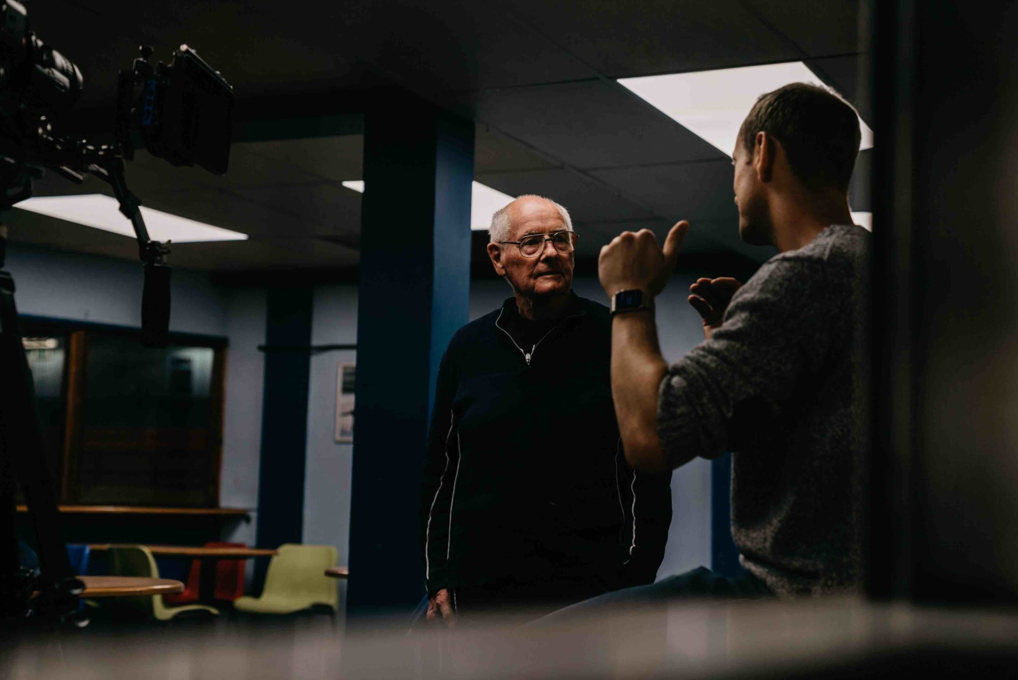 85 year old figure skater stars in music video